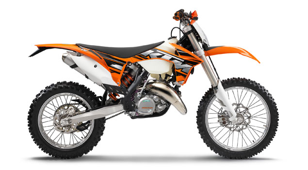KTM 125 EXC 2013: Toughest tests passed with the greatest of ease!