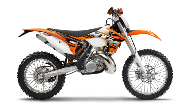 KTM 200 EXC 2013: Less means more!