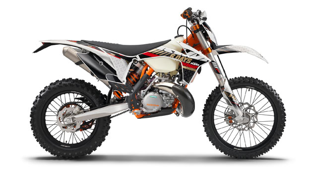 KTM 300 EXC Six Days 2013: When the chips are down