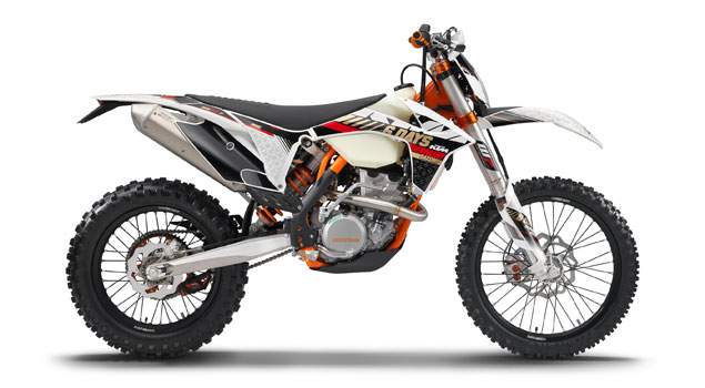 KTM 450 EXC Six Days 2013: Rock-hard