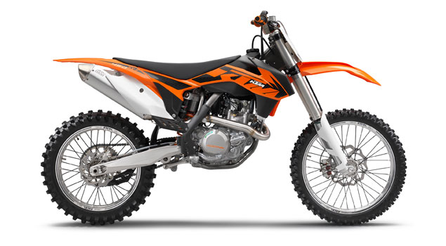 KTM 450 SX-F 2013: Power for all
