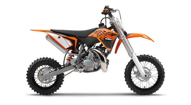 KTM 50 SX 2013: The perfect launchpad into the MX world