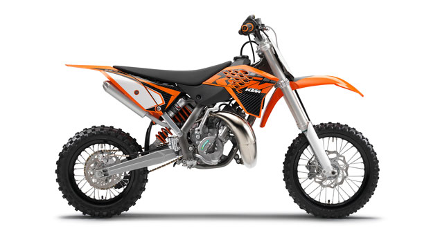 KTM 65 SX 2013: Promotion to the next division
