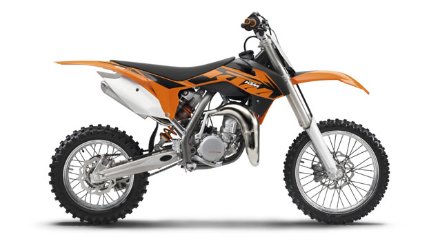 KTM 85 SX 2013: The little big one.