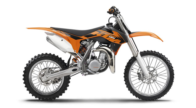 KTM 85 SX 2013: The big little